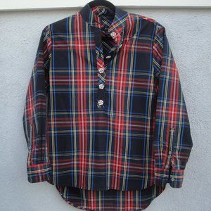 J Crew AE888 Jeweled Button Popover Size 2
